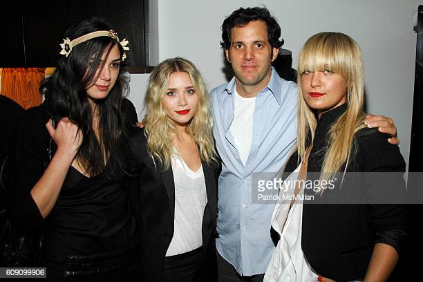 Alexandra Hamile Ashley Olsen James Perse and Victoria Traina attend JAMES PERSE Men's Boutique Launch Party sponsored by Cabana Cachaa at James...