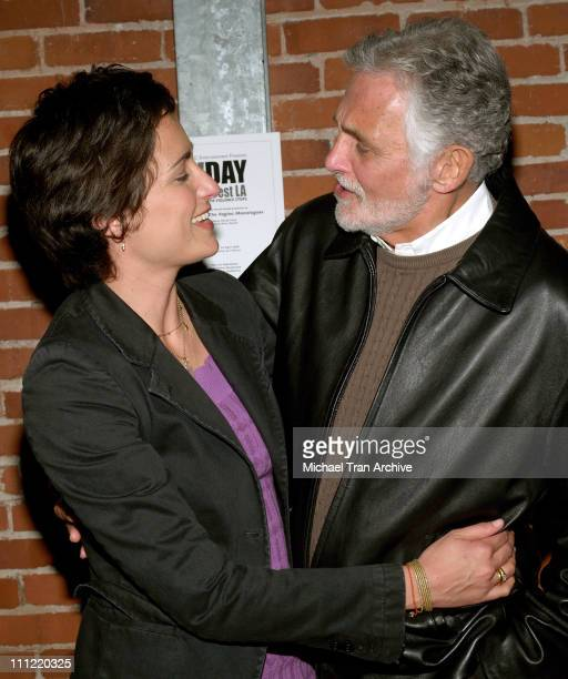 Alexandra Hedison and David Hedison during VDay West LA 2006 Benefit Production of Eve Ensler's 'The Vagina Monologues' Show and After Party at The...