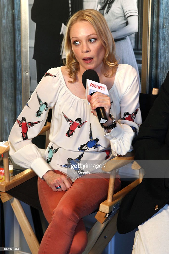 Alexandra Holden attends Day 2 of the Variety Studio at 2013 Sundance Film Festival on January 20, 2013 in Park City, Utah.