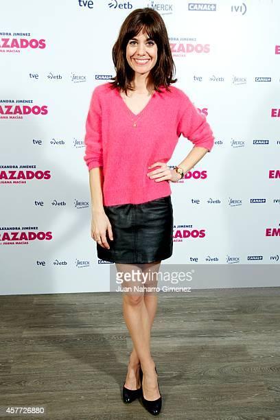 Alexandra Jimenez attends 'Embarazados' photocall at Espacio Mood on October 23 2014 in Madrid Spain