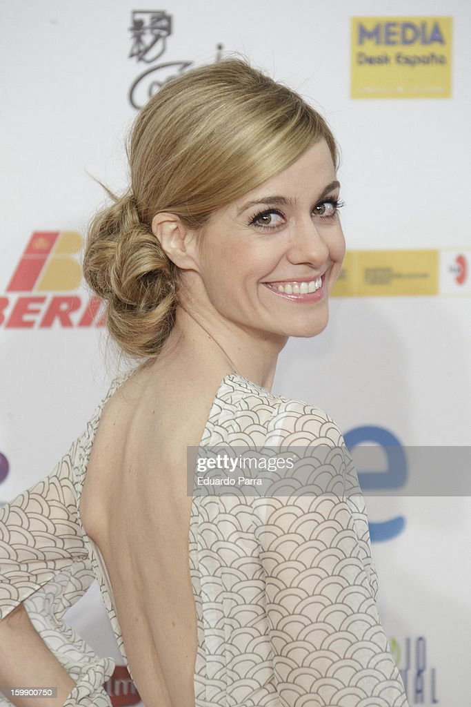 Alexandra Jimenez attends Jose Maria Forque awards photocall at Canal theatre on January 22, 2013 in Madrid, Spain.