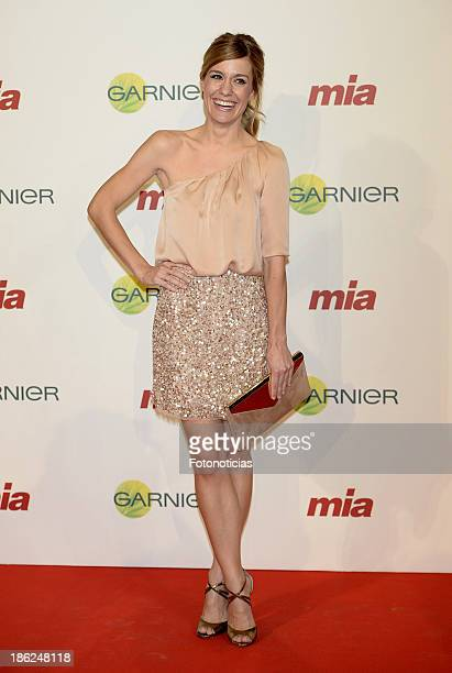 Alexandra Jimenez attends Mia magazine 'Cuida de Ti' 2013 Awards at Calderon theater on October 29 2013 in Madrid Spain