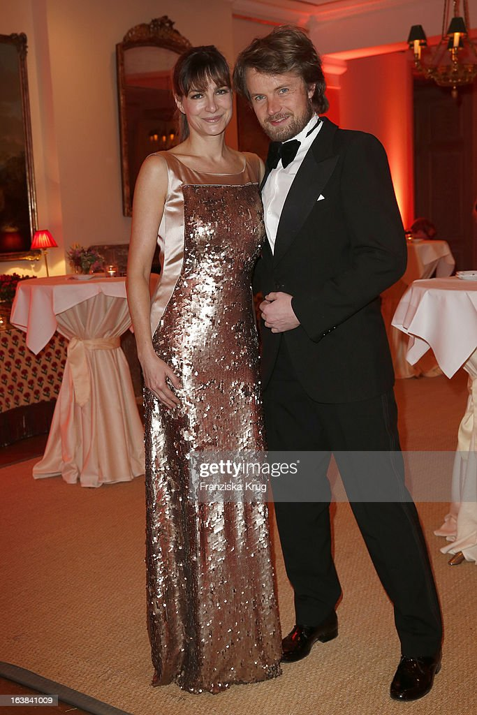 Alexandra Kamp and Michael von Hassel attend the Gala Spa Award 2013 at the Brenners Park Hotel on March 16, 2013 in Berlin, Germany.