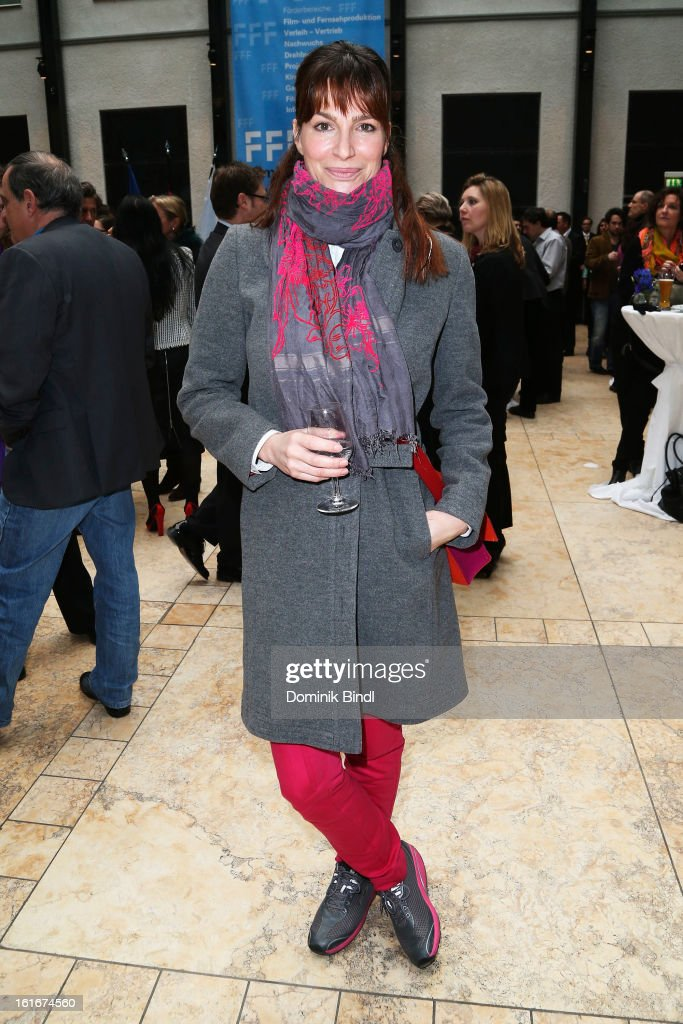 Alexandra Kamp attends Bavarian Representative Berlinale Reception at Bavarian Representation on February 14 2013 in Berlin Germany