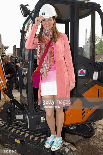 Alexandra Kamp attends roofing ceremony at BMW new Berlin location at BMW Niederlassung Berlin on May 7 2013 in Berlin Germany