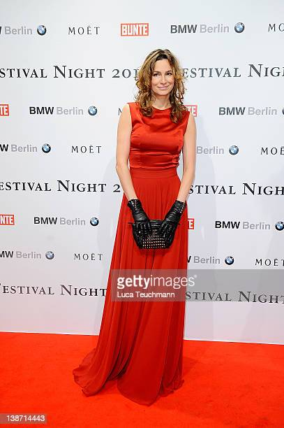Alexandra Kamp attends the 'Festival Night By Bunte And BMW ' during the 62th Berlin International Film Festival at the Humboldt CarrŽ on February 10...