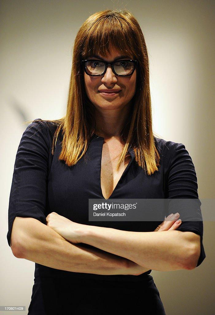 Alexandra Kamp poses during a photocall of 'SOKO Stuttgart' TV Series on June 20, 2013 in Stuttgart, Germany.