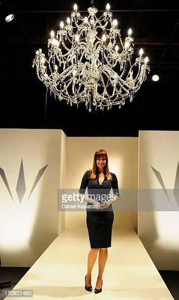 Alexandra Kamp poses during a photocall of 'SOKO Stuttgart' TV Series on June 20 2013 in Stuttgart Germany