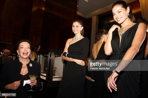 Alexandra Kauka and Graff Models attend The Private Unveiling of GRAFF Time Watch Collection 1 at Graff on June 11 2009 in New York City