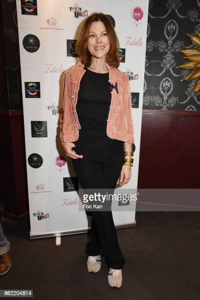 Alexandra Kazan attends the 'Souffle de Violette' Auction Party As part of 'Octobre Rose' Hosted by Ereel at Fidele Club on October 16 2017 in Paris...