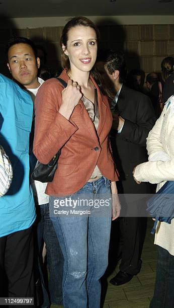 Alexandra Kerry during 2005 Conde Nast Traveler Hot List Party at Megu in New York City New York United States