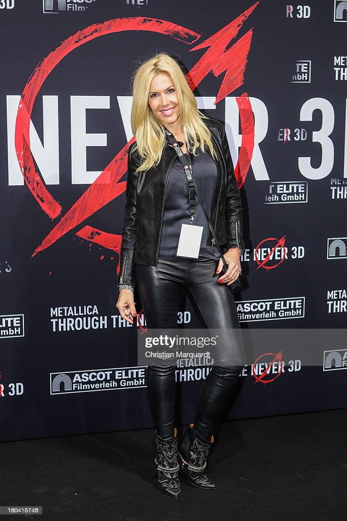 Alexandra Klim attends the German premiere of 'Metallica - Through The Never' on September 12, 2013 in Berlin, Germany.