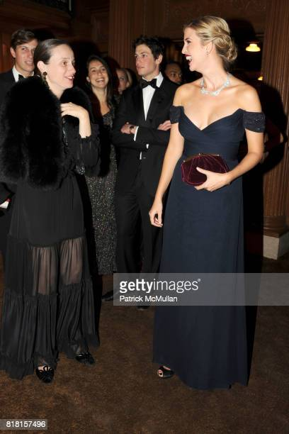 Alexandra Kotur and Ivanka Trump attend The 2010 LIBRARY LIONS GALA at The New York Public Library on November 1 2010 in New York City