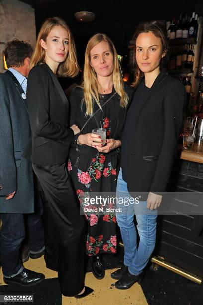 Alexandra Lalonde Belinda White and Fran Hickman attend the after party of Tim Noble and Sue Webster's Blain|Southern exhibition 'Sticks with Dicks...