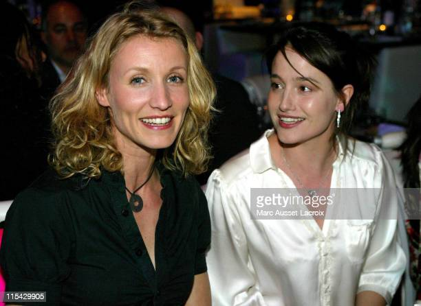 Alexandra Lamy and Marie Gillain during Unveiling of the New Theatre Bobino in Paris at Theatre Bobino in Paris France