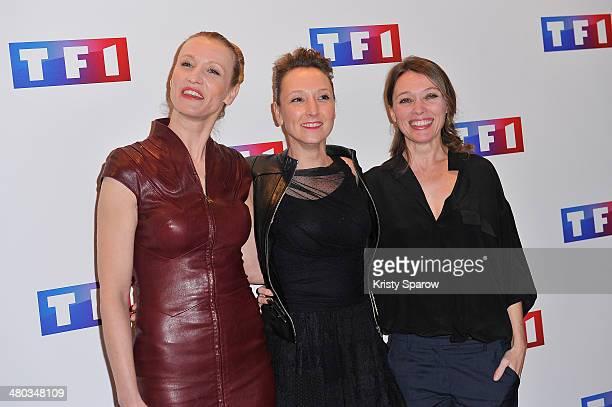 Alexandra Lamy Audrey Lamy and Anne Marivin attend the 'Ce Soir Je Vais Tuer L'Assassin De Mon Fils' Paris Premiere at Cinema Elysee Biarritz on...