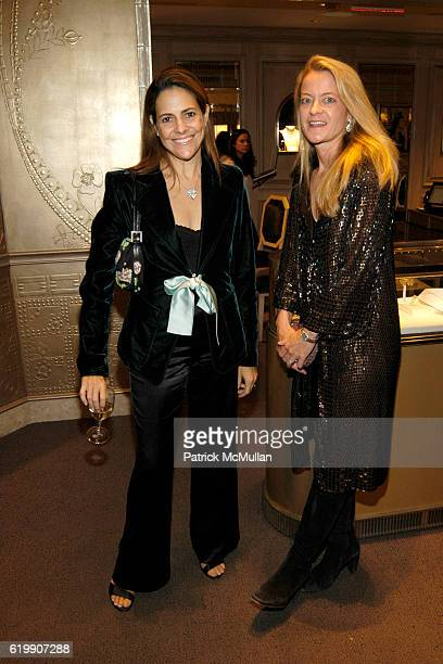 alexandra lebanthal and melissa biggs bradley attend van cleef arpels celebrates release of charms at van - Melissa Biggs Bradley