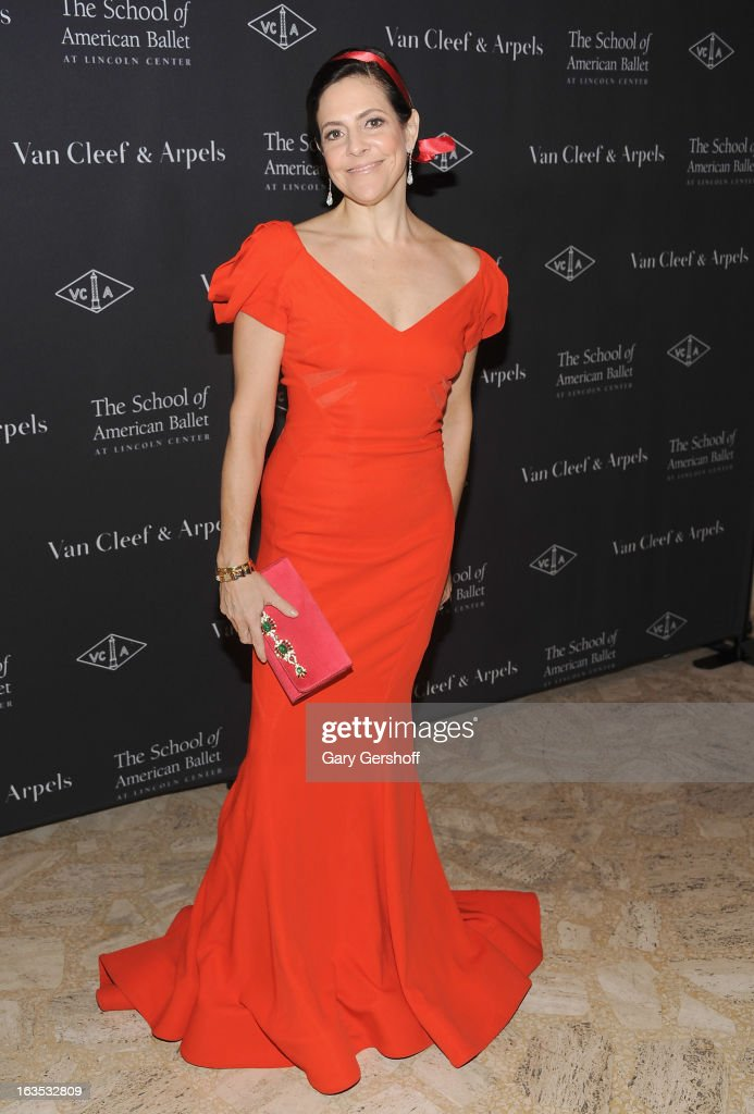Alexandra Lebenthal attends the 2013 School Of American Ballet Winter Ball: A Night In The Far East at David H. Koch Theater, Lincoln Center on March 11, 2013 in New York City.