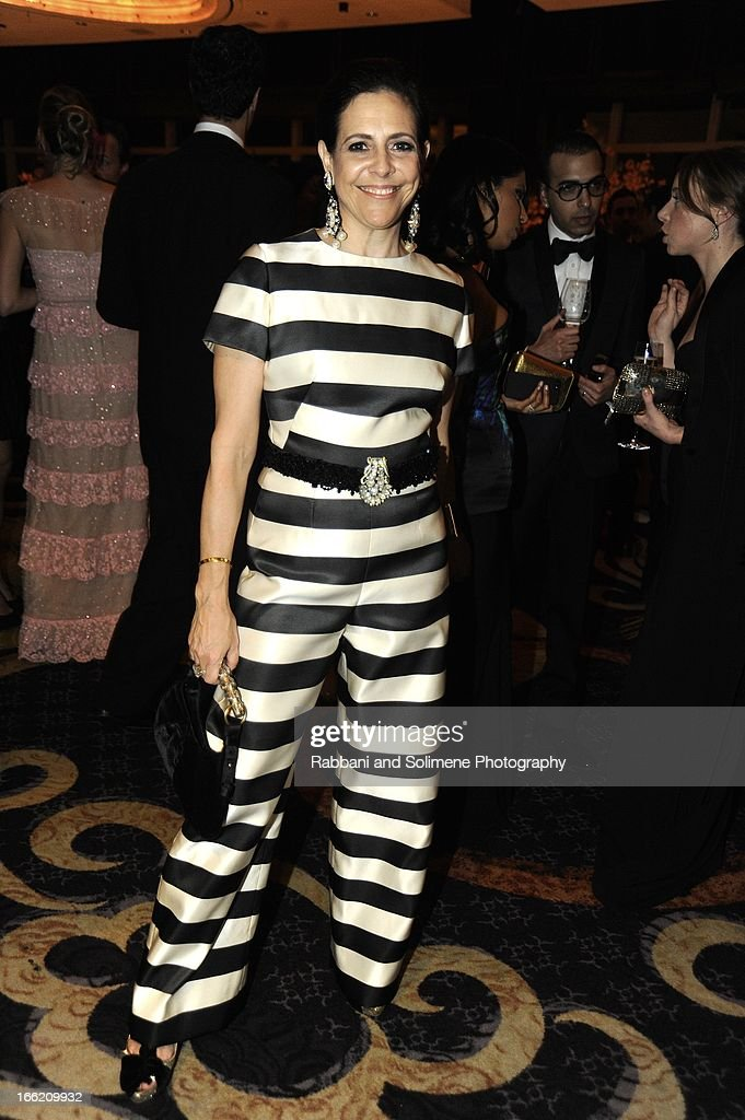 Alexandra Lebenthal attends the New Yorker's For Children's 10th Anniversary A Fool's Fete Spring Dance at Mandarin Oriental Hotel on April 9, 2013 in New York City.