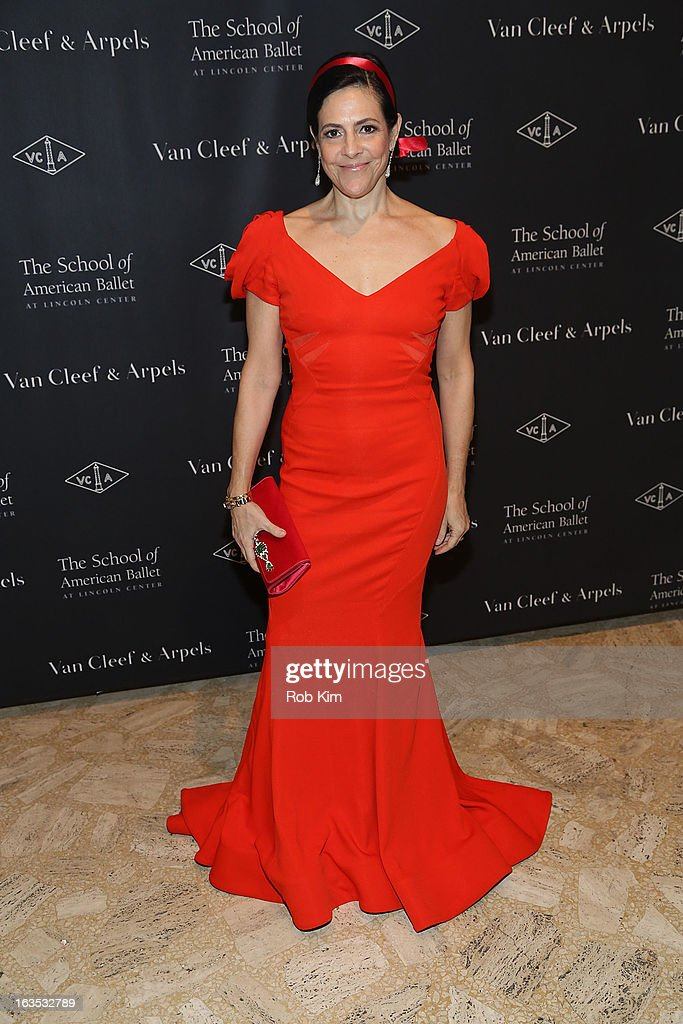 Alexandra Lebenthal attends the School of American Ballet 2013 Winter Ball at David H. Koch Theater, Lincoln Center on March 11, 2013 in New York City.