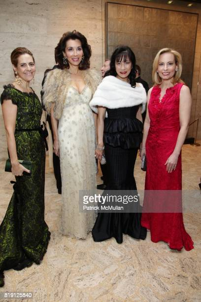 Alexandra Lebenthal Fe Fendi Patricia Shiah and Gillian Miniter attend THE SCHOOL OF AMERICAN BALLET Winter Ball 2010 at David H Koch Theater on...