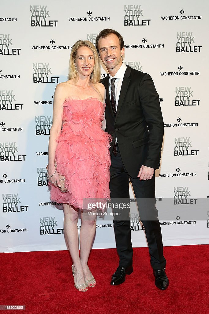Alexandra Leighton (L) and Alex Benet attends the New York City Ballet 2014 Spring Gala at David H. Koch Theater, Lincoln Center on May 8, 2014 in New York City.