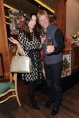 Alexandra Leinauer and Gerhard Leinauer attend the Tuscan Wine Festival at Gruenwalder Einkehr on November 19 2013 in Munich Germany