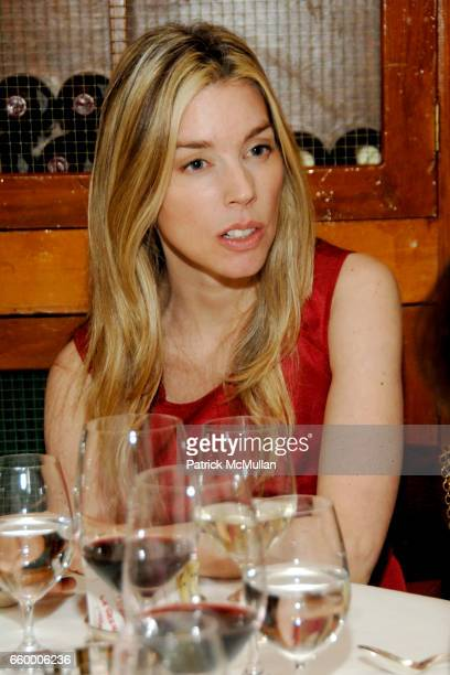 Alexandra Lind Rose attends CHANTELLE 60th ANNIVERSARY LUNCHEON at Le Grenouille on May 15 2009 in New York City
