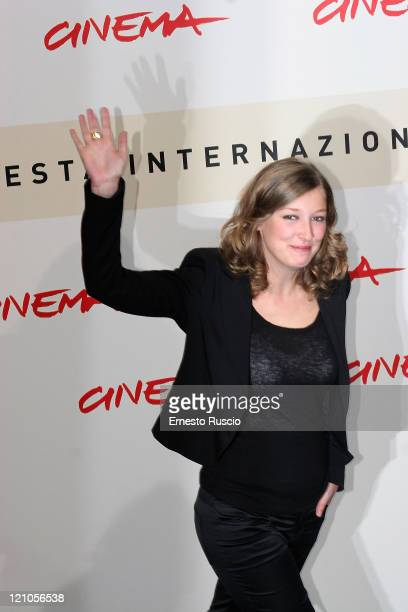 Alexandra Maria Lara actress of film Youth Without Youth at photo call of Rome Cinema Fest on October 20 2007 in Rome Italy