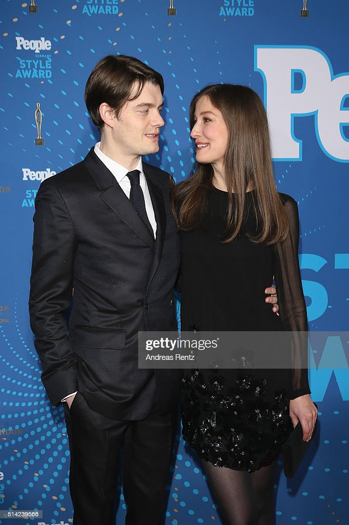 Alexandra Maria Lara and her husband Sam Riley attend the PEOPLE Style Awards at Hotel Vier Jahreszeiten on March 7 2016 in Munich Germany