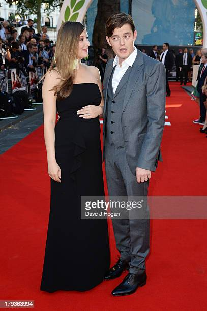 Alexandra Maria Lara and Sam Riley attend the 'Rush' world premiere at The Odeon Leicester Square on September 2 2013 in London England