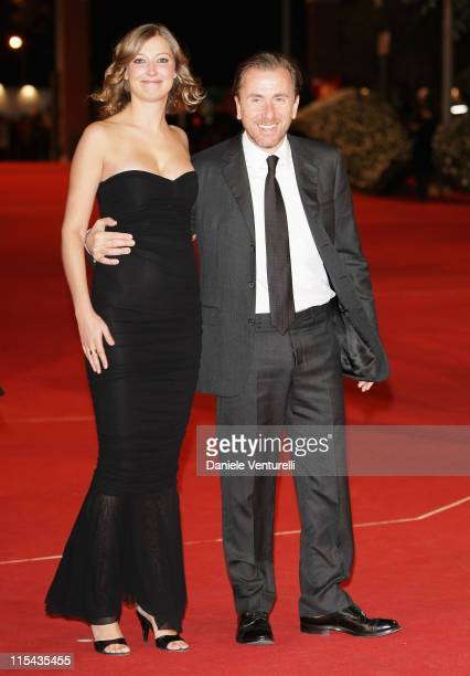 Alexandra Maria Lara and Tim Roth attends the 'Youth Without Youth' premiere during Day 3 of the 2nd Rome Film Festival on October 20 2007 in Rome...