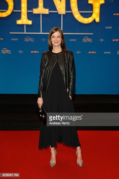 Alexandra Maria Lara attends the European premiere of 'Sing' at Cinedom on November 27 2016 in Cologne Germany