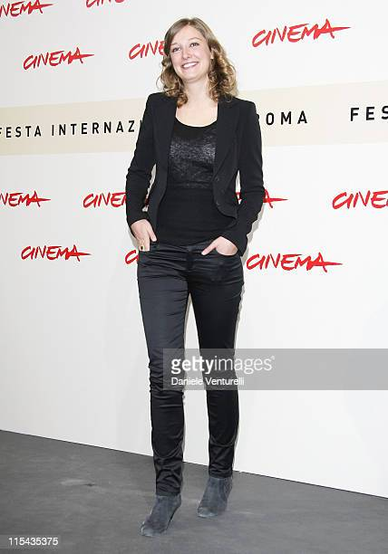 Alexandra Maria Lara attends the 'Youth Without Youth' photocall during Day 3 of the 2nd Rome Film Festival on October 20 2007 in Rome Italy
