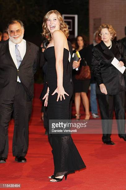 Alexandra Maria Lara attends the 'Youth Without Youth' premiere during Day 3 of the 2nd Rome Film Festival on October 20 2007 in Rome Italy