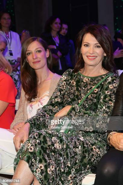 Alexandra Maria Lara Iris Berben and Ute Schlotterer during the Marc Cain Fashion Show Spring/Summer 2018 at ewerk on July 4 2017 in Berlin Germany