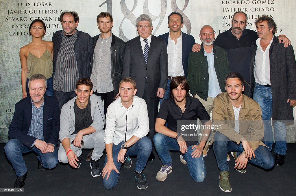 '1898 Los Ultimos De Filipinas' Madrid Photocall