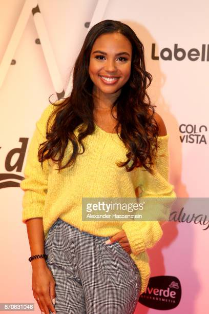 Alexandra Maurer attends the GLOW The Beauty Convention at Station on November 4 2017 in Berlin Germany