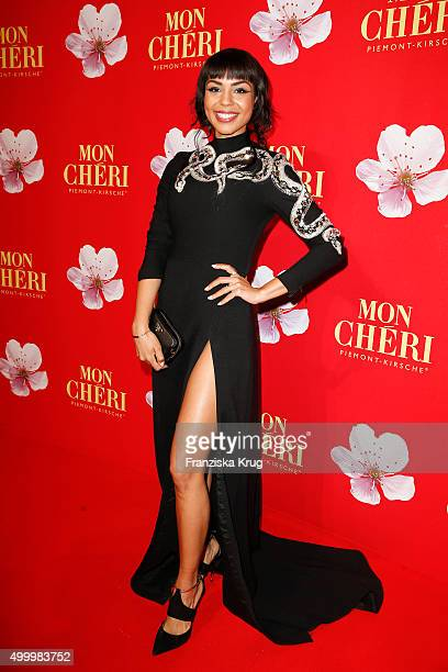 Alexandra Maurer attends the Mon Cheri Barbara Tag 2015 at Postpalast on December 4 2015 in Munich Germany