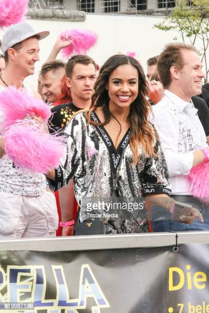 Alexandra Maurer during the celebration of the FriedrichstadtPalast Christopher Street Day at Mercedes Benz Platz on July 20 2017 in Berlin Germany
