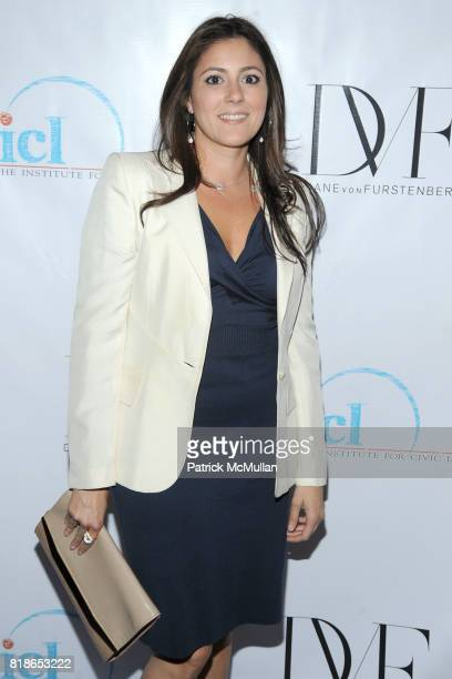 Alexandra Moosally attends INSTITUTE FOR CIVIC LEADERSHIP 2010 Spring Benefit at DVF Studio on June 15 2010 in New York City
