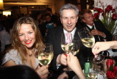 Alexandra Neldel and Berlin's mayor Klaus Wowereit attend the after show party to the 'Lola German Film Award 2011' at Friedrichstadtpalast on April...