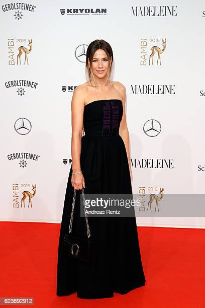 Alexandra Neldel arrives at the Bambi Awards 2016 at Stage Theater on November 17 2016 in Berlin Germany