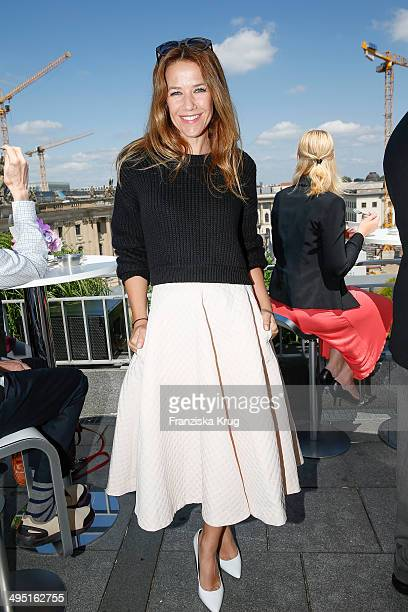 Alexandra Neldel attends 'Staatsoper fuer alle 2014' Open Air Concert on June 01 2014 in Berlin Germany