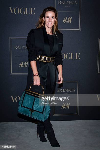 Alexandra Neldel attends the BALMAIN x HM Berlin Launch Party on November 4 2015 in Berlin Germany