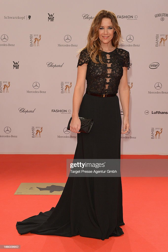 <a gi-track='captionPersonalityLinkClicked' href=/galleries/search?phrase=Alexandra+Neldel&family=editorial&specificpeople=238855 ng-click='$event.stopPropagation()'>Alexandra Neldel</a> attends the Bambi Awards 2013 at Stage Theater on November 14, 2013 in Berlin, Germany.