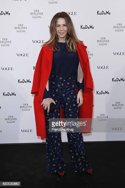 Alexandra Neldel attends the celebration of 'Der Berliner Mode Salon' by KaDeWe Vogue at KaDeWe on January 18 2017 in Berlin Germany