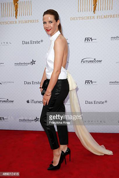 Alexandra Neldel attends the Lola German Film Award 2014 at Tempodrom on May 09 2014 in Berlin Germany