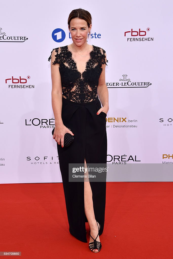 <a gi-track='captionPersonalityLinkClicked' href=/galleries/search?phrase=Alexandra+Neldel&family=editorial&specificpeople=238855 ng-click='$event.stopPropagation()'>Alexandra Neldel</a> attends the Lola - German Film Award (Deutscher Filmpreis) on May 27, 2016 in Berlin, Germany.