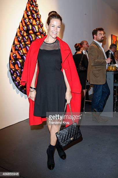 Alexandra Neldel attends the Tiffany Gala Host 'Streetstyle Meets Red Carpet' Event on October 08 2014 in Berlin Germany
